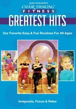 CHAIR DANCING FAVORITES GREATEST HITS SENIOR DVD NEW CITIZEN OLDER ADULT WORKOUT