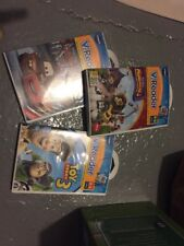 3 Vtech V.Readers Interactive E-Reading System Madagascar Toy Story Cars NEW Lot