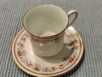 Bouquet Collection Lenox Russet Blossoms Cup and Saucer Set