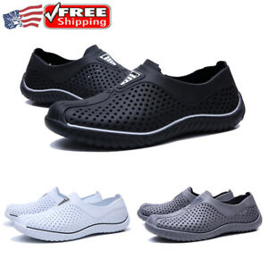 Men's Water Shoes Deck Sneakers Summer Casual Walking Breathable Clogs Sandals