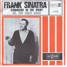 7inch FRANK SINATRA strangers in the night HOLLAND EX ORANGE COVER (S1611)