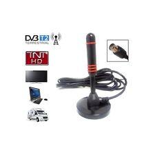 Mini Antenne terrestre TNT HD DVB-T / DVB-T2 intérieure - Gain 30dB