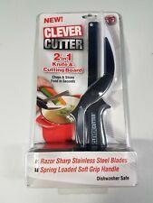 Cortador picador de Comida cuchillo inteligente y tablero de corte 2 en 1 como se ve en TV NUEVO