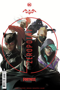 BATMAN FORTNITE ZERO POINT #1 - Third Printing - 3RD PTG - DC - Presale 06/08