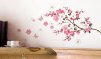 Removable Art Vinyl Quote DIY peach blossom Wall Sticker Decal Mural 45cm*60cm