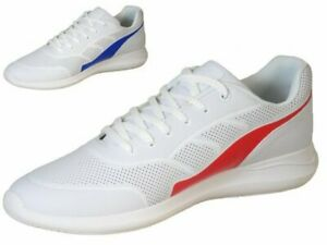MEN'S HENSELITE HM74 SPORT BOWLS SHOES - WHITE/RED - SIZE & ONLY - SALE