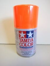 Tamiya - COLOR SPRAY PAINT FOR POLYCARBONATE 100 ml - PS-24 FLOURESCENT ORANGE
