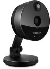 Foscam C1 - Telecamera IP Wi-Fi HD, Grandangolare, Sensore PIR, Micro SD, IR LED