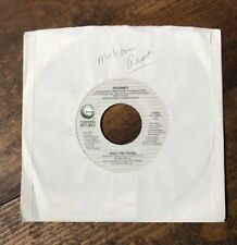 Sammy Hagar-I'll Fall In Love Again-Journey-Only The Young-45 RPM Record-Geffen