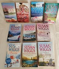 Lot Of 10 Susan Wiggs PB Books LAKESHORE CHRONICLES & more  **Listed**