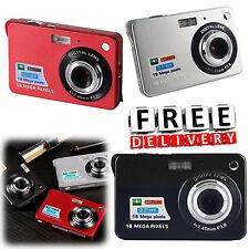 Mini Digital Camera Zoom 18Mp HD TFT 2.7