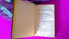 LO NOU TESTAMENT, PRIMERA OBRA EN CATALA FORA DE CATALUNYA A LONDRES 1836