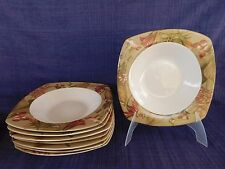 222 Fifth Antiqua SOUP BOWL multiples have more items Butterfly