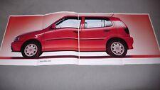 Prospekt Volkswagen VW Polo, 4.1998, 60 Seiten + Preisliste