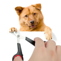 Easy Use Pet Dog Cat Rabbit Bird Guinea Pig Claw Nail Clippers Trimmers Scissors