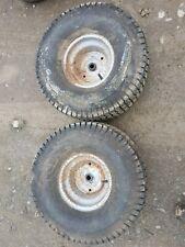 20 10.00 8 husqvarna yt130 yt ride on rear mower Garden wheels Tyres cth