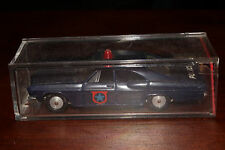 Sabra, Cragstan Die Cast Metal, 1965 Chevrolet Impala Police Car, Original Box.