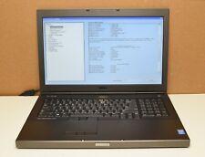 Dell Precision M6800 2.70GHz Intel Core i7-4800MQ 24GB DDR3L RAMN NO HDD