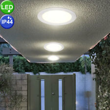 LED ceiling recessed panel light fixture bath room damp room spotlights porch