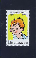 FRANCIA/FRANCE 1979 MNH SC.1637 Boy,by F.Poulbot