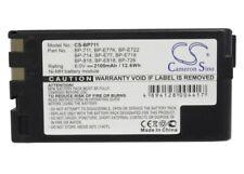 BP-711 Battery for Canon E61 ES900 ES180 UC2Hi E53 ES80 E850Hi UC1MarkII E50 New
