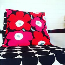 Marimekko Cushion , Fabric Floor Cushion Pillow Marimekko Unikko Pillow