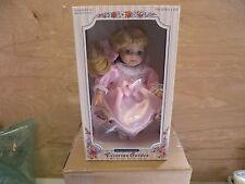 Melissa Jane Victorian Garden Porcalain Miniture Doll New In Box