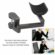 Support Mouse Computer Bracket Arm Wrist Hand Rest Desk Armrest Stand Table F7