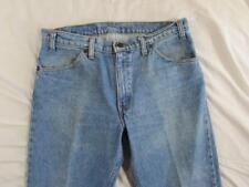 Vtg 90s Levi 506 Straight Leg Faded Denim Jeans Tag 34x30 Measure 34x29
