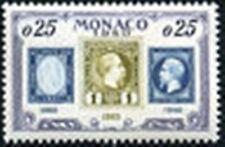 "MONACO STAMP 525 "" ANNIVERSAIRE TIMBRE PRINCE MONEGASQUE 25 C "" NEUF xx TTB"