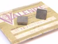 NEW SURPLUS 5PCS. VALENITE  SPE  434  GRADE: VC28  CARBIDE INSERTS