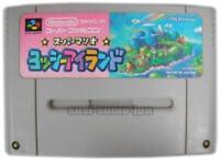 SUPER MARIO YOSSY ISLAND YOSHI NINTENDO SUPER FAMICOM SNES SFC JAPAN