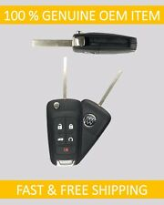 10-17 Buick LaCrosse Regal Verano Keyless Remote UNCUT Flip Key Entry Fob GM OEM