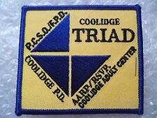 USA Patches- Arizona, Coolidge Triad Police Patches (New*)