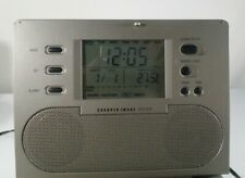 Sharper Image Si585 Cd Radio Alarm Clock With Sound Soother,