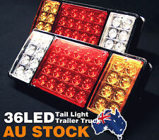 2PCS LED TAIL STOP BRAKE LAMP INDICATOR TRUCK TRAILER LIGHT 12V Pair AU POST