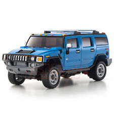 Kyosho Mini-Z A.S.C. MZ Overland Hummer H2 Blue 1:27 RC Cars On Road #MVP10BL