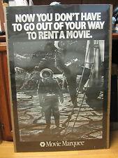 vintage  movie goer movie Marquee original 1987 Poster  228