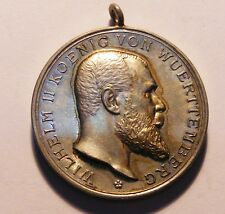 GERMAN WUERTTEMBERG  IMPERIAL MILITARY  SILVER MEDAL.