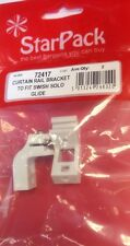 Curtain Rail Brackets to Fit Swish Solo Glide Track Pack Qty 2  No:72417