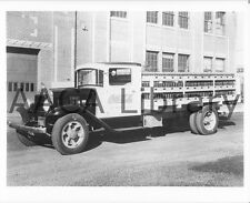 1934 Mack Coca Cola Bottlers Rack Truck, Coke, Factory Photo (Ref. #55521)