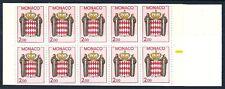 Carnet MONACO 10 timbres de 2 F neuf **