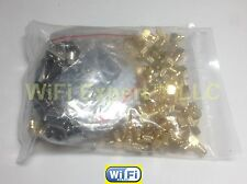100 Pack of MCX or MMCX Male Female Straight or Right Angle for RG316 174 LMR100