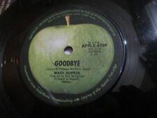 "MARY HOPKIN Goodbye RARE australia Apple Edition Beatles Related 7"" 45 solid vg"