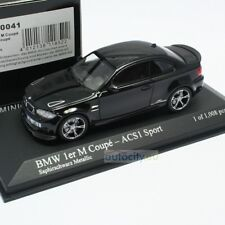 MINICHAMPS BMW 1ER M COUPE - ACS1 SPORT COUPE SAPHIRSCHWARZ METALLIC 410020041