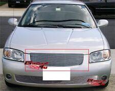 Fits 2004-2006 Nissan Sentra Main Upper Billet Grille Insert