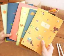 Korean style A5 Notebook Little girl Soft manuscripts Fashion Cute cat Notepad