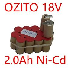 Battery Rebuild Pack For OZITO 18V CGH-180K 2.0Ah Ni-Cd Cordless Hedge Trimmers