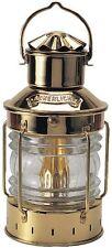 Lampe Ancre en Laiton, à Huile , à Pétrole, Feu de Mouillage Maritime