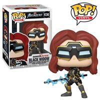 Black Widow Marvel Avengers Game Official Funko Pop Vinyl Figure Collectables